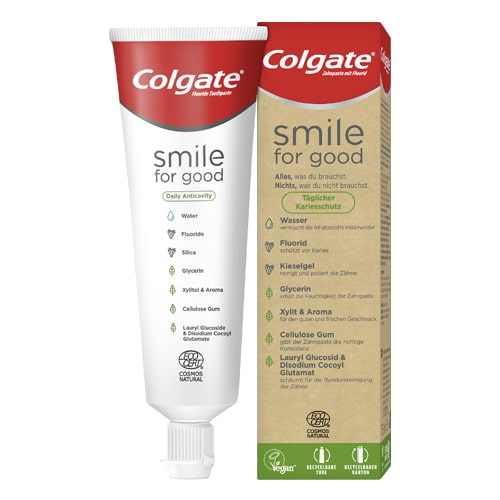 Colgate® Smile for good Daily Anticavity dentifrice