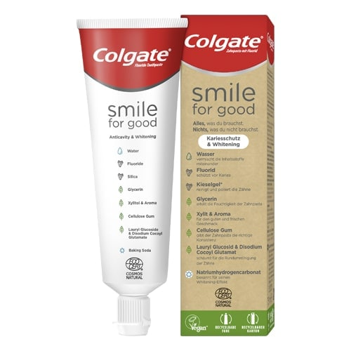 Colgate® Smile for good Anticavity & Whitening dentifrice
