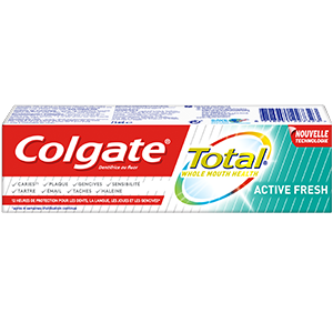 Dentifrice Colgate Total Active Fresh